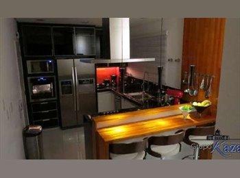 EasyQuarto BR - Apartamento de Luxo Splendor Blue - São José dos Campos, São José dos Campos - R$ 1.800 Por mês