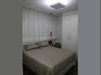 EasyQuarto BR - Suite mobiliada em apartamento próximo ao Iguatemi, RM Campinas - R$ 1.000 Por mês