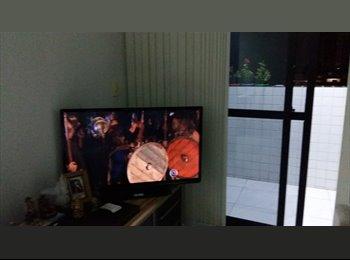EasyQuarto BR - Compartilho apartamento bem aconchegante., João Pessoa - R$ 650 Por mês