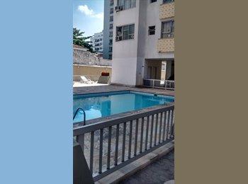 EasyQuarto BR - Quarto confortável e amplo em prédio com piscina/tijuca afonso pena, Rio Comprido - R$ 850 Por mês