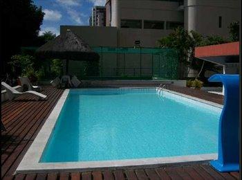 EasyQuarto BR - disponivel quarto para uma pessoa. alugar , Recife - R$ 300 Por mês