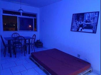 EasyQuarto BR - Duas vagas para mulheres em apartamento super aconchegante no setor aeroporto, Goiânia - R$ 650 Por mês