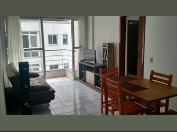 EasyQuarto BR - Quarto com banheiro individual em ótimo apartamento no Centro, Florianópolis - R$ 1.200 Por mês