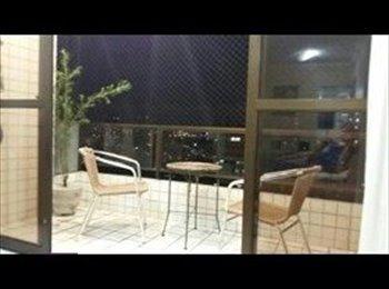 EasyQuarto BR - Dois quartos de solteiros, Recife - R$ 800 Por mês