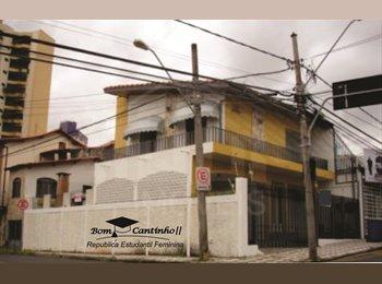 EasyQuarto BR - Moça! Melhor lugar com contas inclusas!, Sorocaba - R$ 359 Por mês