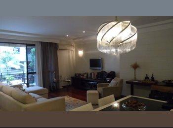 Alugo suite em amplo apartamento no coração do Gonzaga -...