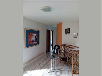EasyQuarto BR - Alugo quarto no bessa - 50 Metros da praia, João Pessoa - R$ 350 Por mês