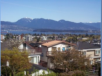 Room available in gorgeous view home in Point Grey
