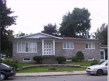 EasyRoommate CA - Chambre à louer, quartier tranquille, maison clean, Québec City - $425 pcm