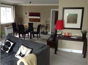 One beautiful bedroom in 2 bedrooms apt. Annex
