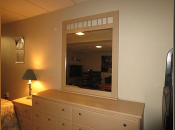 EasyRoommate CA - SPACIOUS BASEMENT BEDROOM/LIVING AREA - Western Suburbs, Ottawa - $600 pcm