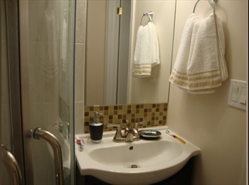 ROOM FOR RENT IN A NEWLY FINISHED BASEMENT WITH SEPARATE...