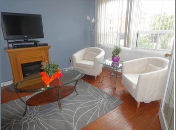 $850 FULLY FURNISHED ROOM FOR RENT