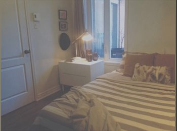 EasyRoommate CA - Nice room in a nice place ! - Mercier - Hochelaga - Maisonneuve, Montréal - $400 pcm