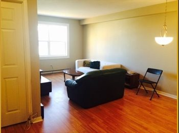 EasyRoommate CA - 2 bdrs available asap in 3bdr apt  july and august - Halifax Area, Halifax Area - $441 pcm