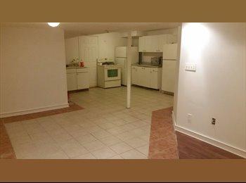 EasyRoommate CA - Beautiful 2 Master Bedrooms,2 full bathrooms  Basement - Mississauga, South West Ontario - $1,250 pcm