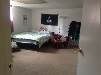 EasyRoommate CA - Large bedroom with adjoining room FURNISHED Utilities INC. NW Calgary - Calgary, Calgary - $550 pcm