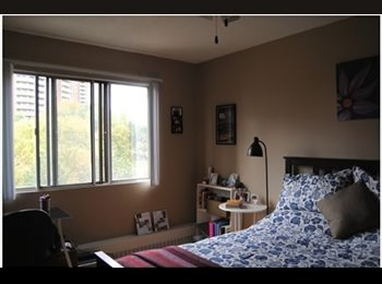 EasyRoommate CA - Bright, Spacious Room in Large 2-Bedroom, 1 Bath - Square One - $757/mo - Mississauga, South West Ontario - $757 pcm