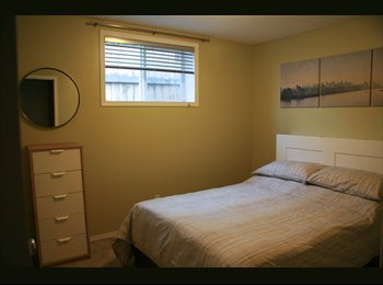 EasyRoommate CA - Newly furnished double bedroom with Garage Parking - Calgary, Calgary - $700 pcm