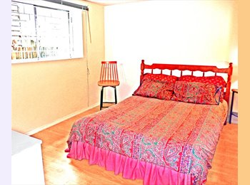 SHARE FULLY FURN PVT 2 BR GDN LEVEL SUITE SEPT w MALE 30