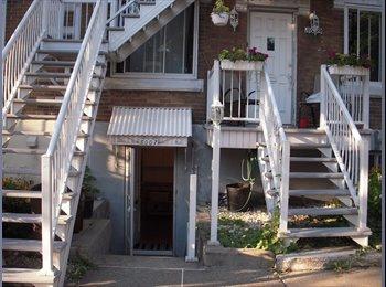 EasyRoommate CA - Appartement charmant bien situé!!! - Villeray - Saint-Michel - Parc-Extension, Montréal - $675 pcm