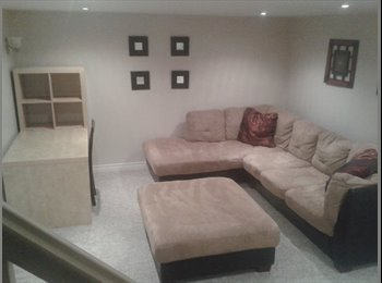 EasyRoommate CA - Basement guest suite for rent - London, South West Ontario - $500 pcm