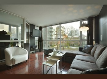 EasyRoommate CA - Room for Rent in Yaletown Condo - Downtown, Vancouver - $1,300 pcm