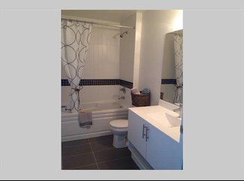 Private room in 950 sq foot Mimico Condo