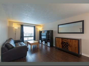 Private space in two storey home