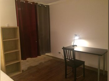 EasyRoommate CA - Spacious and high privacy living room in Garneau tower rented - South West, Edmonton - $500 pcm