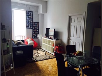 Room for rent for JULY only near landsdowne subway st