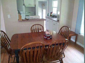 Student House Room for Rent Jan. 1st