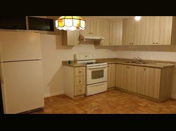 EasyRoommate CA - North York 4 Bedroom Basement - North Toronto, Toronto - $500 pcm