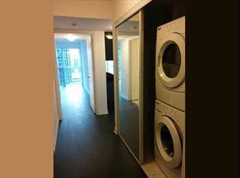 EasyRoommate CA - 1BR+Private Bath in a Shared 2 BR Luxurious Condo! - North Toronto, Toronto - $1,100 pcm