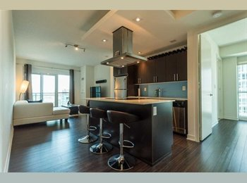 Renting a room at a beautiful condo with separate washroom,...