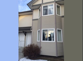 EasyRoommate CA - Sunny and Spacious Master bedroom in Royal Oak Townhouse - Calgary, Calgary - $700 pcm