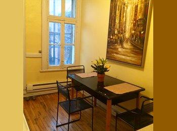 EasyRoommate CA - Chambre à louer - Le Plateau-Mont-Royal, Montréal - $500 pcm