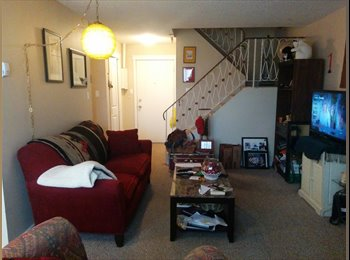 Room in two level apartment for rent