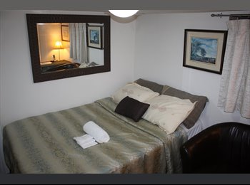 FURNISHED ROOM IN 2 BEDROOM BASEMENT APT/SHARED...