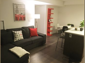 Room in stunning brand new condo with private washroom