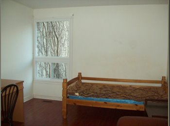 EasyRoommate CA - Large clean bright room in townhouse – Finch & Keele - North Toronto, Toronto - $499 pcm