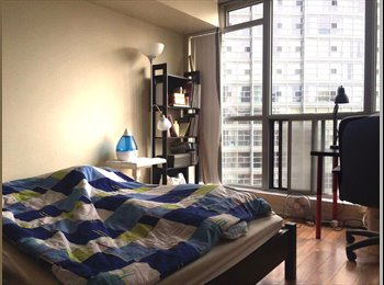 EasyRoommate CA - 24 Wellesley St W condominium available from 5th August, Toronto - $1,000 pcm