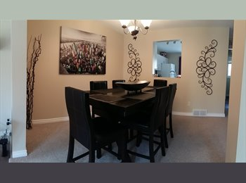 EasyRoommate CA - Room for rent in beautiful Kanata Townhome, Ottawa - $575 pcm
