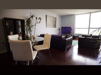 EasyRoommate CA - Female Roommate Wanted for Spacious 2 Bdrm/October 1st, Toronto - $800 pcm