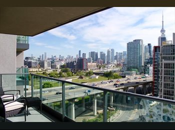 EasyRoommate CA - ROOM TO RENT IN SHARED 2 BR/ 2 B APT FORT YORK, Toronto - $1,400 pcm