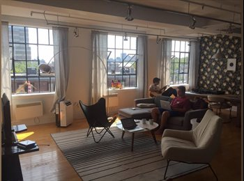 EasyRoommate CA - Bright room in a spacious loft in the Plateau., Montréal - $900 pcm
