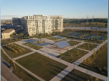 EasyRoommate CA - Penthouse Condo for Rent! 37 Galleria Pkwy, Markham, ON, Toronto - $1,795 pcm