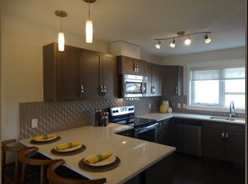 Airdrie Room for Rent in Brand New Townhome Ensuite Bath-...