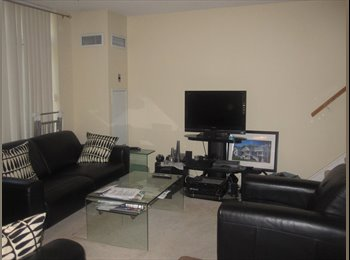 EasyRoommate CA - Furnished room in shared whole fully furnished  two bedroom apartment, Toronto - $750 pcm