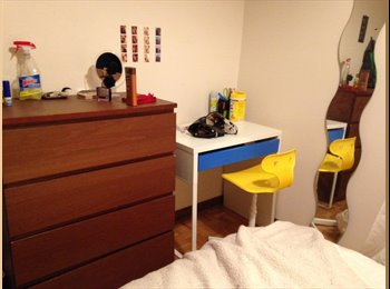 EasyRoommate CA - Subletting room from now until April 30th (or up to July 31st), Montréal - $550 pcm